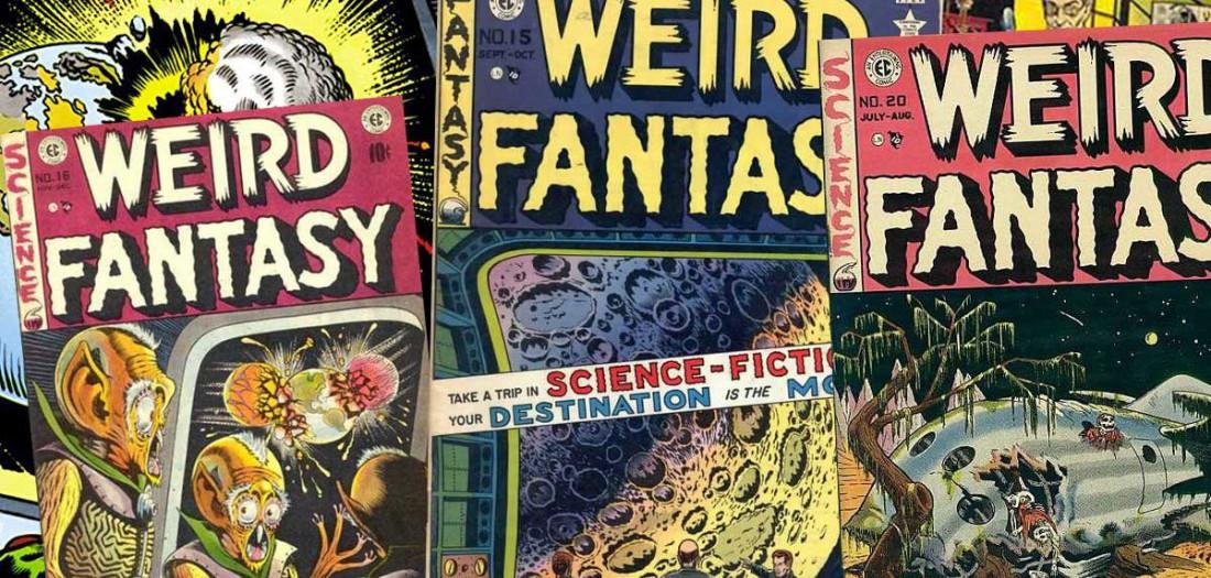 Serie di volumi appartenenti a Weird Fantasy