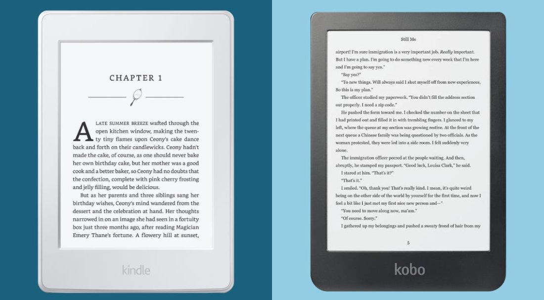 Paragone Kindle vs Kobo